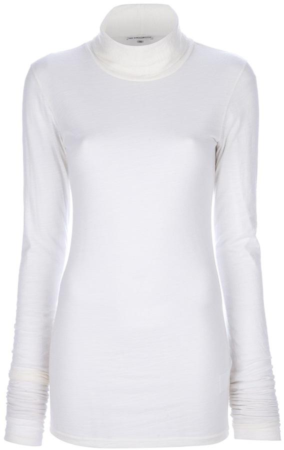 Ann Demeulemeester funnel neck sweater