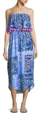 Lilly Pulitzer Meridin Strapless Printed Midi Dress