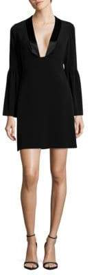 Jill Stuart Deep V-Neck Shift Dress