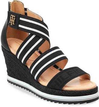 0bd52fa3e Tommy Hilfiger Leather Upper Women s Sandals - ShopStyle