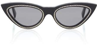 Celine Embellished cat-eye sunglasses