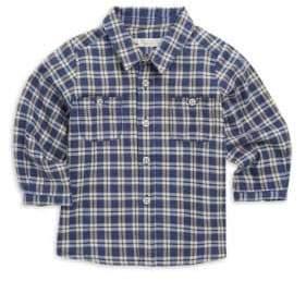 Bonpoint Baby Boy's & Little Boy's Plaid Button-Down Shirt