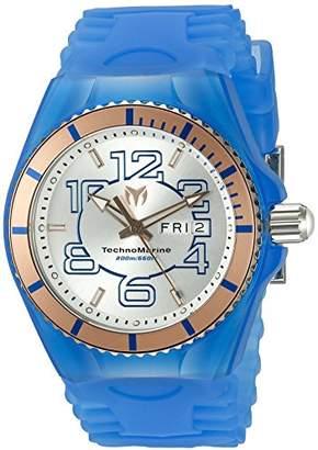 Technomarine Men's 'Cruise JellyFish' Swiss Quartz Stainless Steel Casual Watch (Model: TM-115146)
