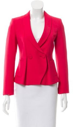 Giorgio Armani Double-Breasted Fitted Jacket $425 thestylecure.com