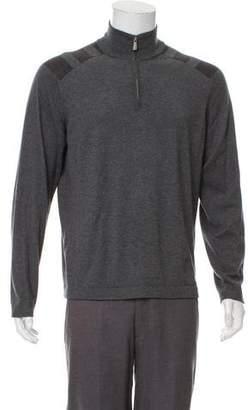 Malo Half-Zip Cashmere Sweater