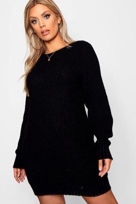 586b885536464 boohoo Black Plus Size Clothing - ShopStyle UK