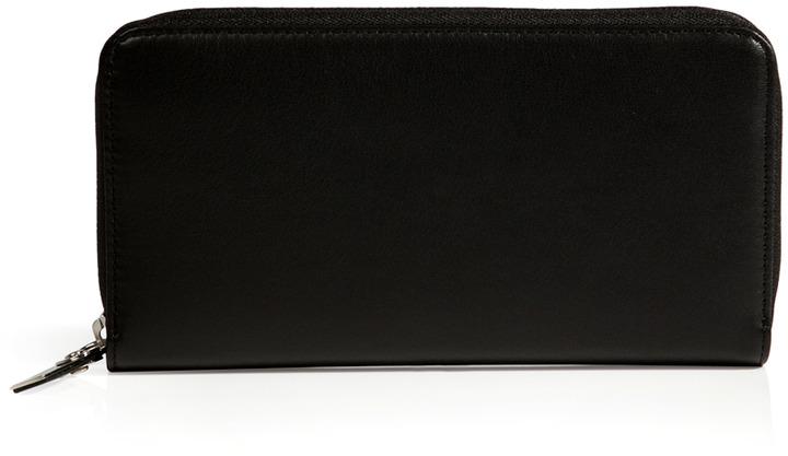 Maison Martin Margiela Leather Zip-Around Wallet