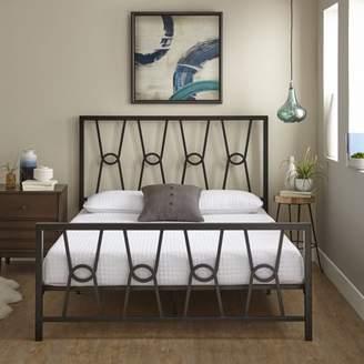 Premier Mathis Platform Metal Bed Frame with Bonus Base Support