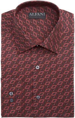 Alfani Assorted AlfaTech by Men's Athletic Fit Print Dress Shirts