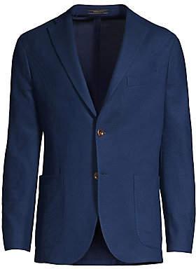 Boglioli Men's Cotton Honeycomb Jersey Sport Jacket