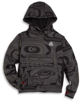 Ralph Lauren Boy's Geometric-Print Hooded Sweatshirt $59.50 thestylecure.com