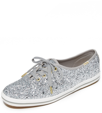 Kate Spade New York x Keds Glitter Sneakers $85 thestylecure.com