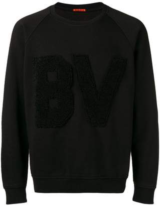 Barena fluffy letters sweatshirt