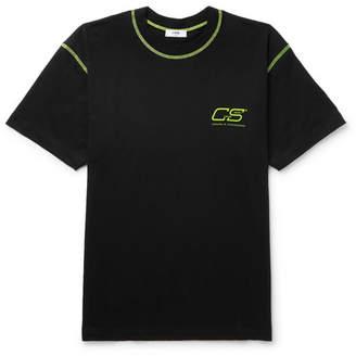 Cmmn Swdn Ridley Logo-Print Cotton-Jersey T-Shirt