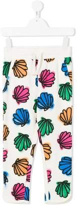 Stella McCartney Emilie fleece shell trousers