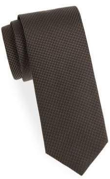 Eton Dot-Print Silk Tie