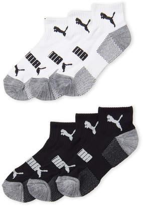 Puma Boys 8-20) 6-Pack Low-Cut Socks