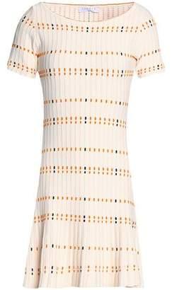 Sandro Jacquard-Knit Mini Dress