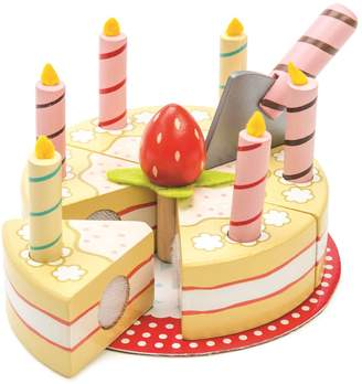 Le Toy Van Vanilla Birthday Cake Set