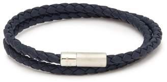 Tateossian 'Pop Rigato' double wrap braided leather bracelet
