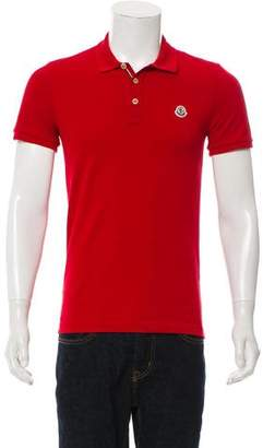 Moncler Piqué Polo Shirt