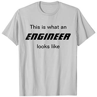 This Is What An Engineer Looks Like Shirt Funny Coder Tee