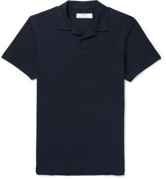 Orlebar Brown Kingsman + Felix Cotton-Piqué Polo Shirt