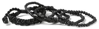 Topman Mens Black Bracelet Pack*