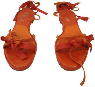 Christian Dior Cloth sandals
