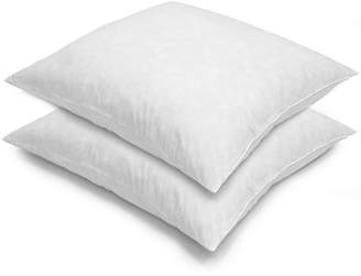 Asstd National Brand Euro Square Feather 2-Pack Pillows