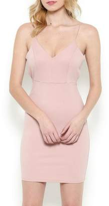 Pretty Little Things Blush Peekaboo Dress