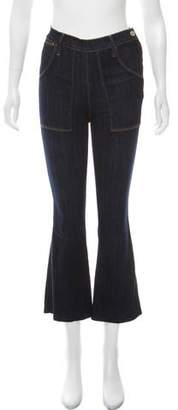 Frame Mid-Rise Wide Jeans