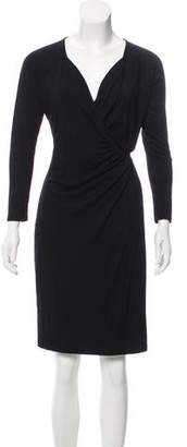 White + Warren Long Sleeve Knee-Length Dress w/ Tags