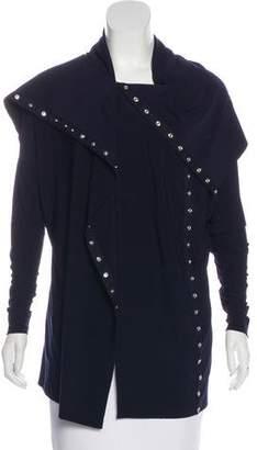Norma Kamali Long Sleeve Asymmetrical Jacket