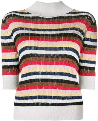 Sonia Rykiel striped knit T-shirt