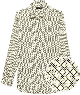 Banana Republic Dillon Classic-Fit Print Shirt