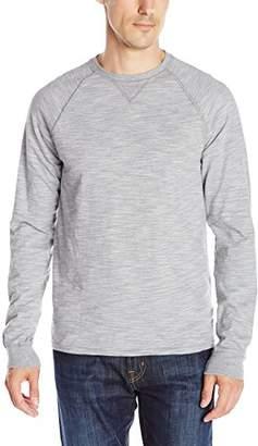Hanes Men's Long-Sleeve Slub Jersey T-Shirt
