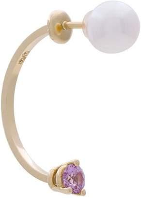 Delfina Delettrez 18kt gold Dots earring