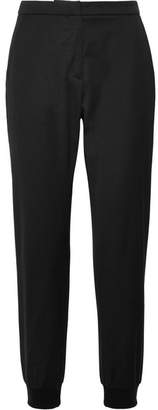 Chinti and Parker Wool-blend Track Pants - Black