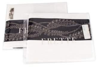 Frette Set of 2 Pillow Shams