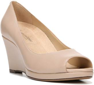 Naturalizer Olivia Peep Toe Wedge