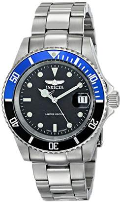Invicta 'Limited Edition' Men's ILE9937OBASYB Pro Diver Analog Display Swiss Automatic Silver Watch