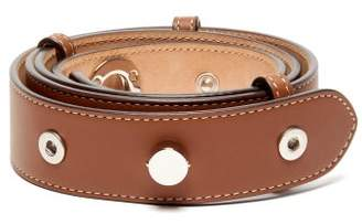 Burberry Leather Waist Belt - Womens - Tan