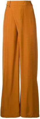 3.1 Phillip Lim front wrap wide leg trousers