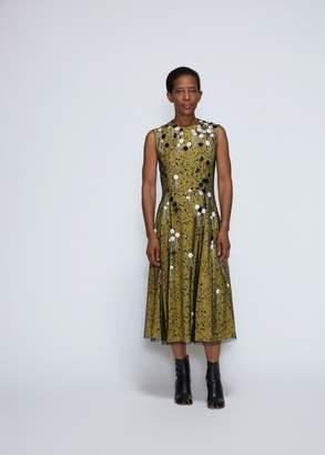 Cédric Charlier Totokaelo Exclusive Sleeveless Floral Print Dress