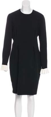 Roksanda Knee-Length Wool Dress