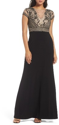 Women's Adrianna Papell Beaded Gown $279 thestylecure.com