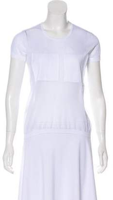 Courreges Sheer Short Sleeve Top w/ Tags