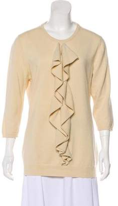 Barneys New York Barney's New York Long Sleeve Cashmere Sweater