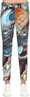 Elwood Printed Boyfriend Denim Jeans